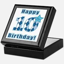 Happy 10th Birthday! Keepsake Box