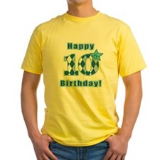 Happy 10th Birthday! T