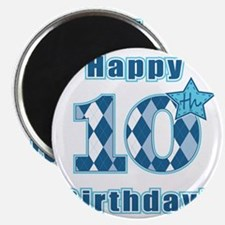 Happy 10th Birthday! Magnet