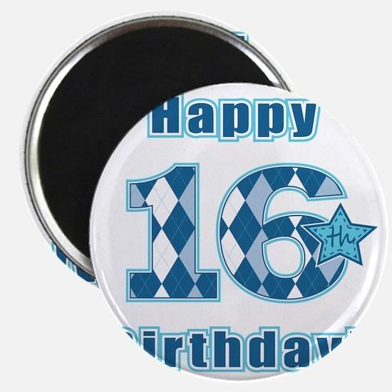 Happy 16th Birthday! Magnet