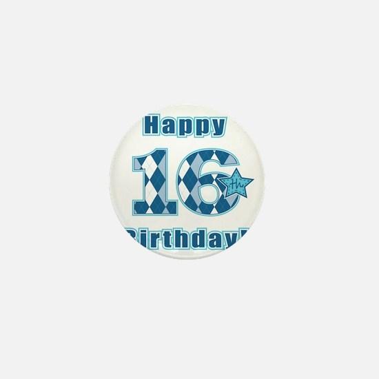 Happy 16th Birthday! Mini Button