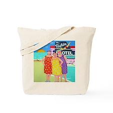 Tourist Season Beach Seashore Tote Bag