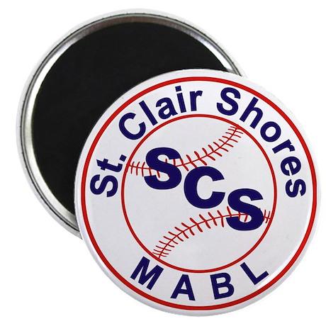 SCS MABL Baseball League Magnet