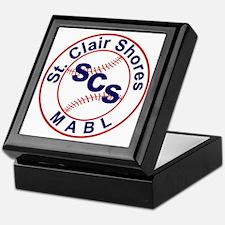 SCS MABL Baseball League Keepsake Box