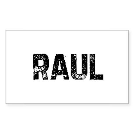 Raul Rectangle Sticker