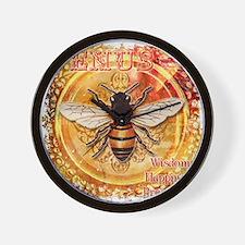 VenusBee(raw) Wall Clock