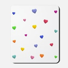 HEARTS OF LOVE * Mousepad