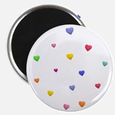 HEARTS OF LOVE * Magnet