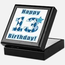 Happy 13th Birthday! Keepsake Box