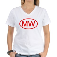 MW Oval (Red) Shirt