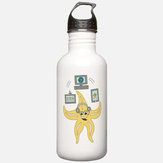 Sandy the Starfish-Col Water Bottle