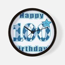 Happy 100th Birthday! Wall Clock
