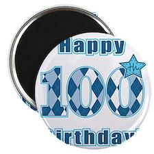 Happy 100th Birthday! Magnet