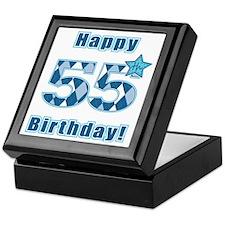 Happy 55h Birthday! Keepsake Box