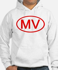 MV Oval (Red) Hoodie