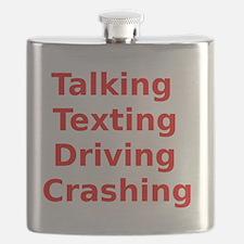 Talking Texting Driving Crashing Flask