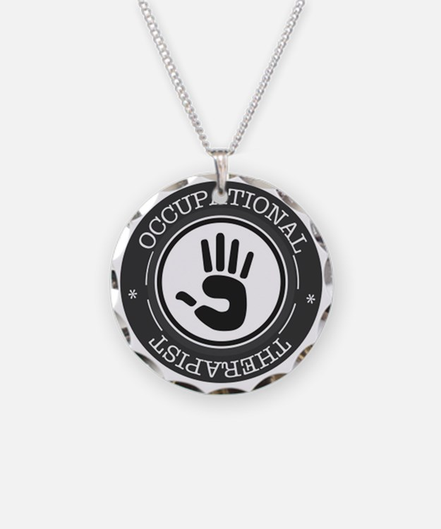 Occupational Therapist Hand Necklace