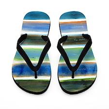 Lake Color Impressions Flip Flops