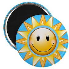 Sunshine with sparkles Magnet