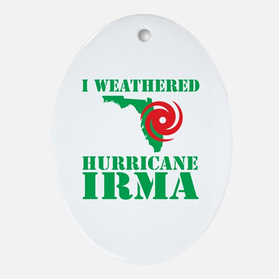 Hurricanes Oval Ornament