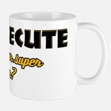 I Prosecute what's your super power Small Mugs
