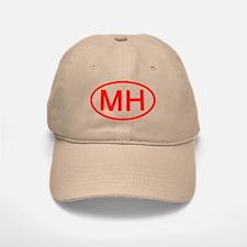 MH Oval (Red) Baseball Baseball Cap