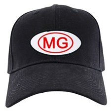 MG Oval (Red) Baseball Hat