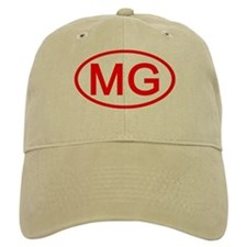 MG Oval (Red) Baseball Cap