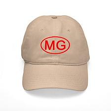 MG Oval (Red) Baseball Cap