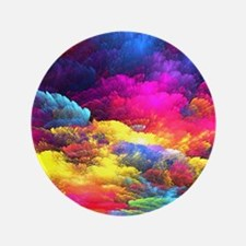 """Abstract Clouds 3.5"""" Button"""