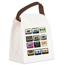 mix tape tee Canvas Lunch Bag