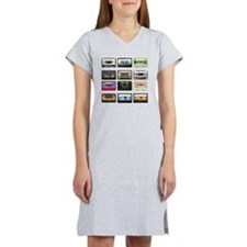 mix tape tee Women's Nightshirt
