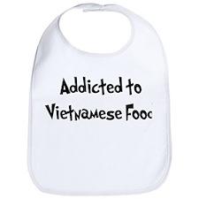 Addicted to Vietnamese Food Bib