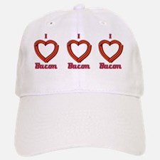 I Heart Bacon Mug Baseball Baseball Cap