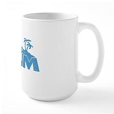Blue Beach Bum Mug