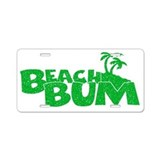 Beach bum License Plates