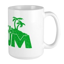 Green Beach Bum Mug