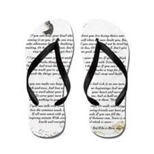 Graduation Baccalaureate IF by Rudyard  Flip Flops