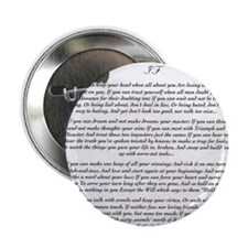 """Graduation Baccalaureate IF by Rudyar 2.25"""" Button"""