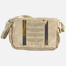 Graduation Key To The Future IF by R Messenger Bag
