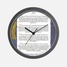 Graduation Key To The Future IF by Rudy Wall Clock