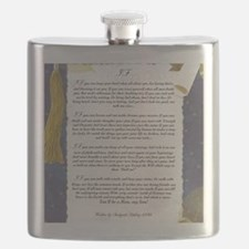 Graduation Key To The Future IF by Rudyard K Flask