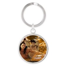Clan and Conviction Round Keychain