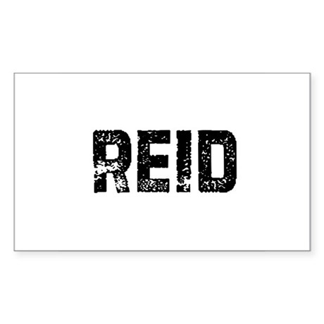 Reid Rectangle Sticker