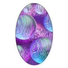 Inner Flow II Abstract Purple Fract Decal