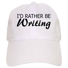 Rather Be Writing Baseball Cap