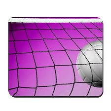 Purple Volleyball Net Mousepad