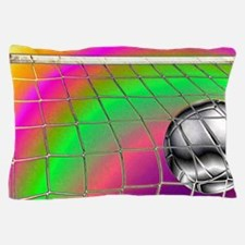 Rainbow Volleyball  Net Pillow Case