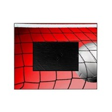 Red Volleyball  Net Picture Frame