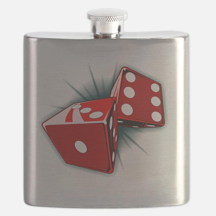 Dice Pair Flask